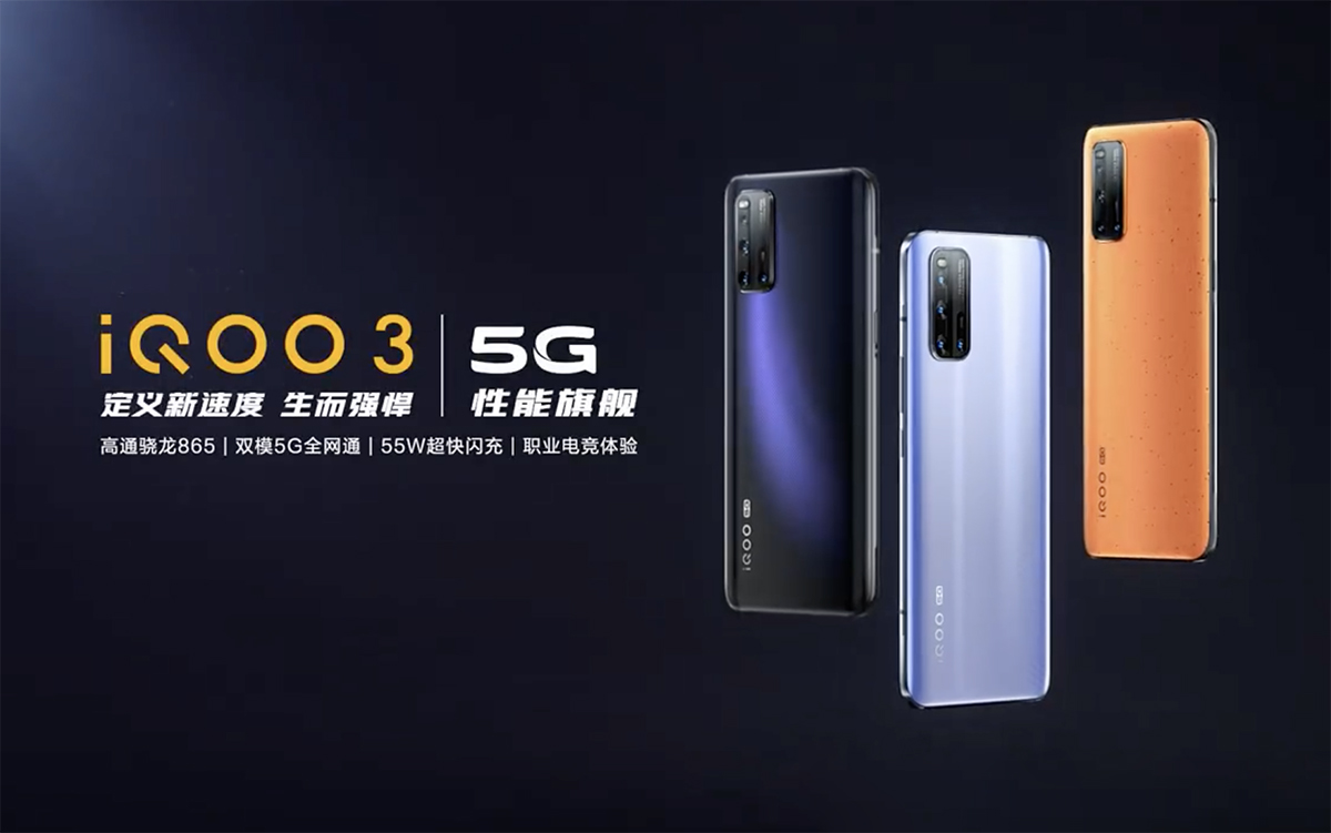 The iQOO 3 is the first Snapdragon 865 phone that comes in both 4G ...
