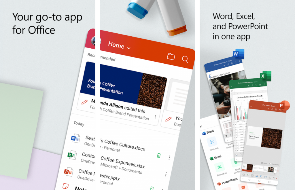 """<p>Microsoft Office on Android has always been incredibly useful for modifying documents, spreadsheets, and presentations on the go. While Google's own suite of apps, namely Docs, Sheets and Slides, could do the job most of the time, Microsoft's apps served better for offline editing as they worked mostly the same as the Microsoft Office suite</p> <p>The post <a rel=""""nofollow"""" href=""""https://www.xda-developers.com/microsofts-revamped-office-app-android-released/"""">Microsoft's revamped Office app for Android is now out, combines PowerPoint, Word, Excel, and OneDrive</a> appeared first on <a rel=""""nofollow"""" href=""""https://www.xda-developers.com/"""">xda-developers</a>.</p>"""