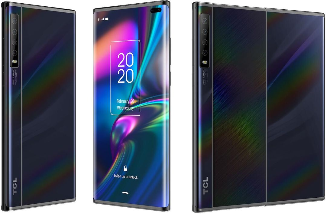 TCL Concept smartphone feature a slide out display