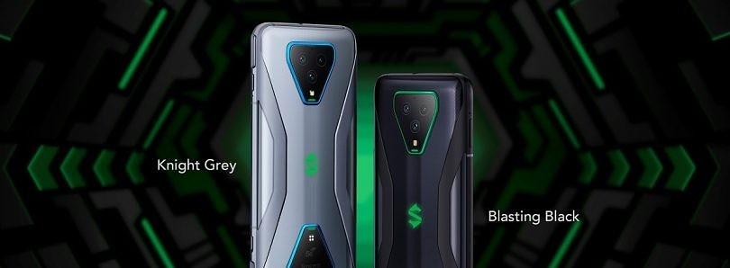 Black Shark 3 and 3 Pro gaming phones announced with retractable shoulder buttons, magnetic charging connector, and Snapdragon 865