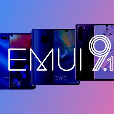 [Update: Timeline for first 19] EMUI 9.1 will roll out to 49 older Huawei and Honor devices