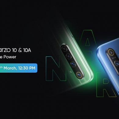 [Update: Launching on 26th March] Realme to launch new Narzo 10 and Narzo 10A smartphone series