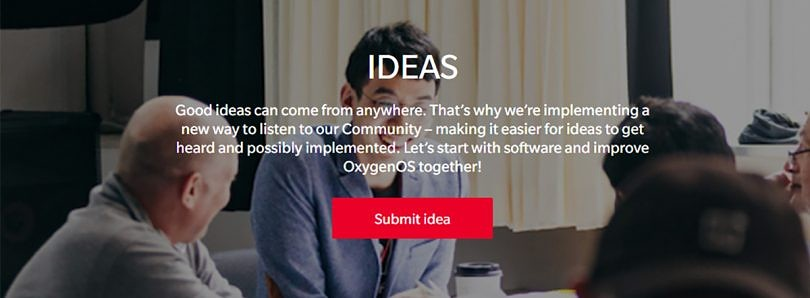 OnePlus launches the IDEAS program to get community feedback on OxygenOS