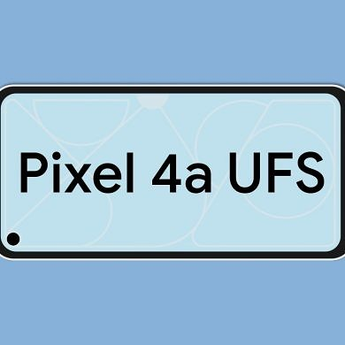 The Google Pixel 4a will offer UFS 2.1 storage for faster app loading speeds than the Pixel 3a