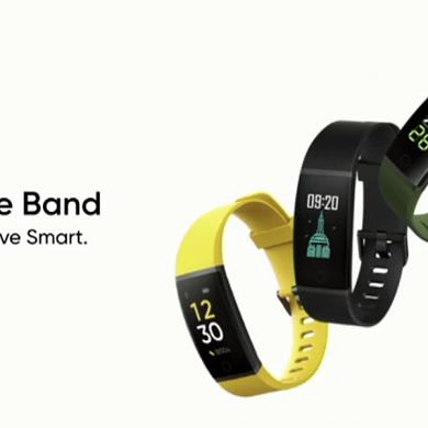 Realme Band launched in India alongside the Realme 6 series