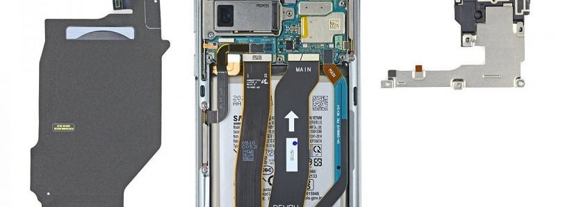 iFixit's Galaxy S20 Ultra teardown shows off Samsung's 100X Space Zoom camera