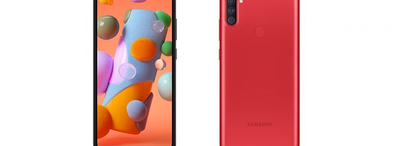 Samsung announces the budget Galaxy A11 smartphone with triple rear cameras
