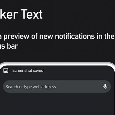 Bring back the notification ticker with Super Status Bar