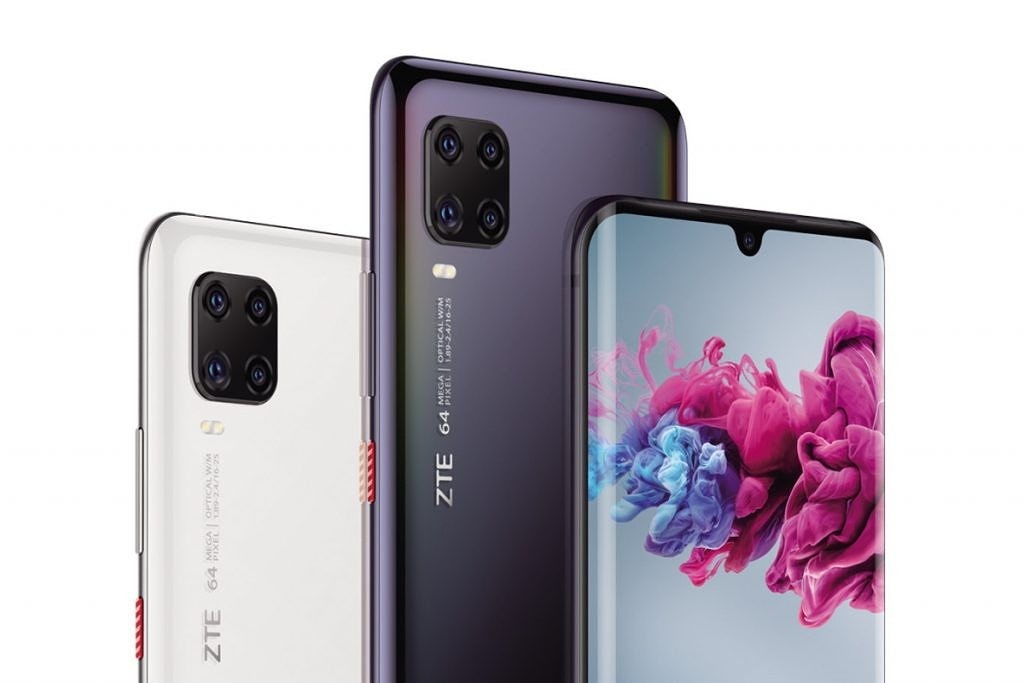 ZTE Axon 11 in different colors