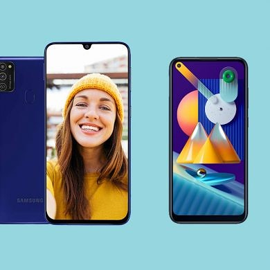 Galaxy M11 and Galaxy M21 leaked renders reveal the designs of Samsung's upcoming budget phones