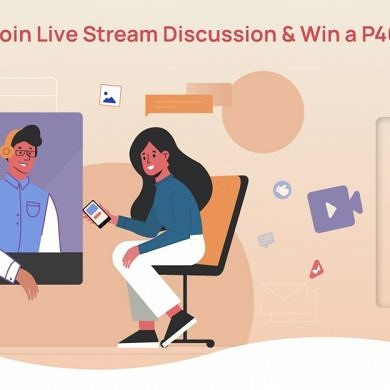 Join the Huawei P40 Livestream Discussion for a Chance to Win One for Yourself