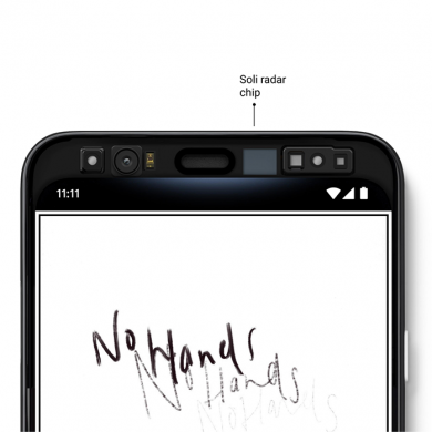 Here's how Google designed the Soli RADAR gestures on the Pixel 4