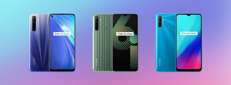 Realme 6 launches in Europe with 90Hz displays, 64MP cameras, MediaTek Helio G90T alongside Realme 6i and Realme C3 Global variant
