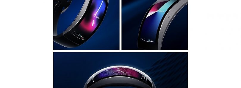 Huami's Amazfit X smartwatch with a wraparound OLED display is now on IndieGogo