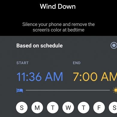 Digital Wellbeing 1.0.3 tests a revamped Wind Down feature with new options and a Quick Settings tile