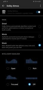 EMUI 9 and Magic UI 2 sound settings