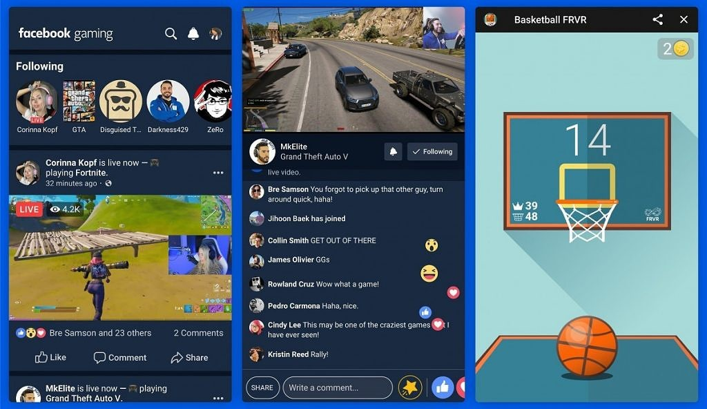 Facebook's own gaming app rolls out to rival Mixer, Twitch, and YouTube