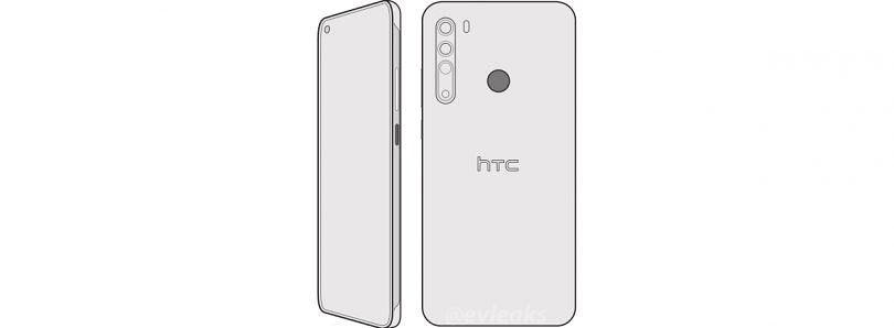 [Update 3: Live Image] HTC's upcoming Desire 20 Pro leaks with a hole-punch display and quad rear cameras