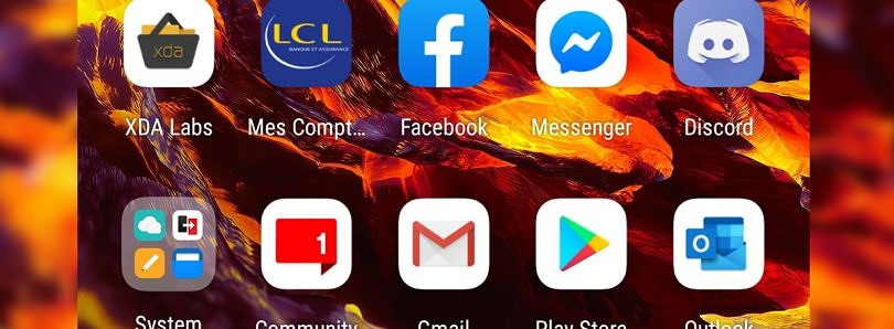 Download the new Hydrogen Icon Pack from the OnePlus 8