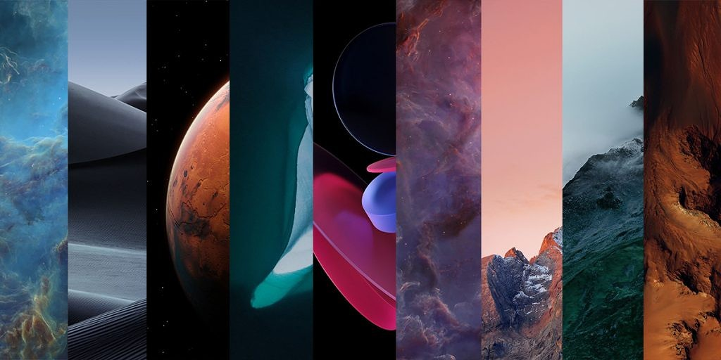 Download Miui 12 Wallpapers And New Super Earth And Mars Live Wallpapers