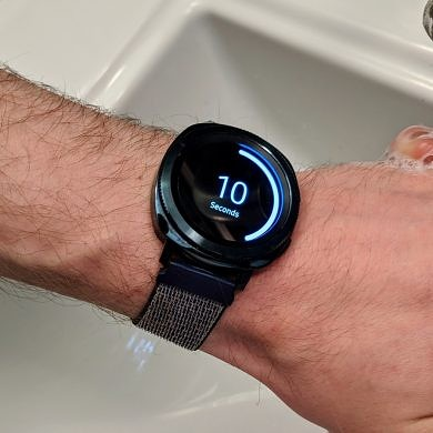 Samsung launches a handwashing app for Galaxy watches