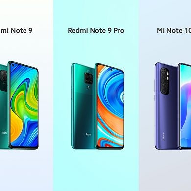 Xiaomi launches the Redmi Note 9 series globally alongside the Mi Note 10 Lite