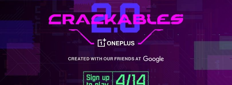 OnePlus announces Crackables 2.0 puzzle game with a $10,000 max prize