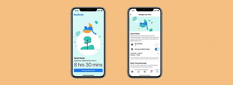 Facebook is adding a Quiet Mode to silence push notifications