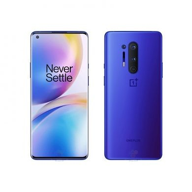 OnePlus 8 Pro renders show off new Ultramarine Blue color and Case options