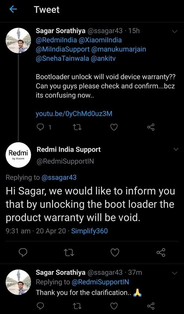 Does unlocking bootloader void warranty of your Xiaomi or Redmi phone?