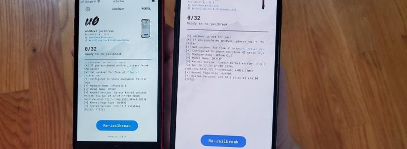 New unc0ver exploit allows jailbreaking Apple iPhone and iPads running iOS/iPadOS 12 to 13.5