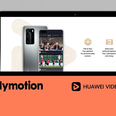 Huawei partners with Dailymotion to show video content in Huawei Video
