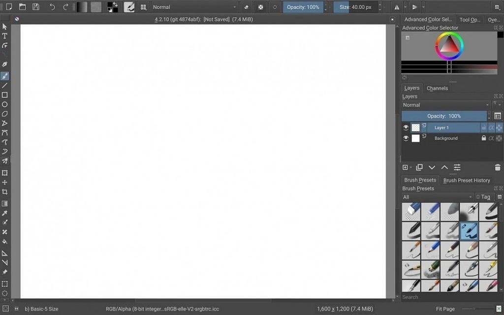 Krita, a FOSS digital drawing app, is now available for Android tablets and Chromebooks 1