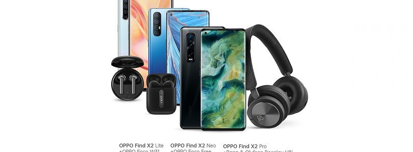 OPPO Find X2 Pro, Neo, and Lite are now available in Germany with free Bluetooth audio accessories as bonuses