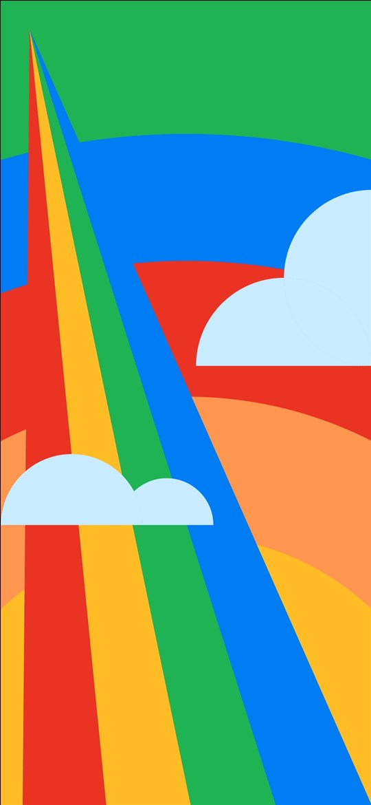 Download the Google Pixel 4a wallpapers in Full HD [2340 x ...