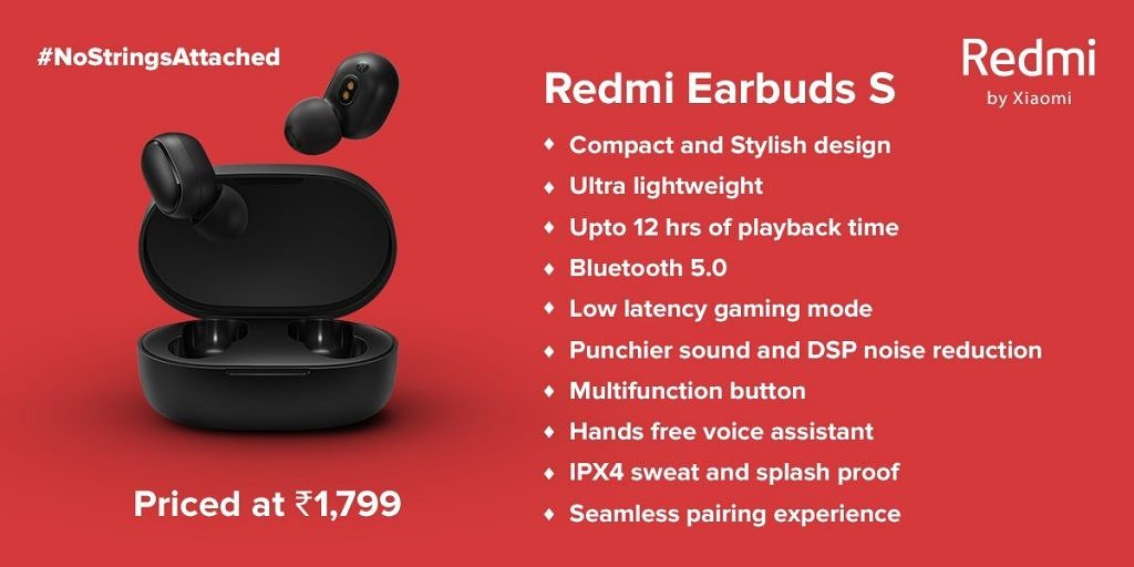 Xiaomi launches Redmi Earbuds S at affordable price: Details here