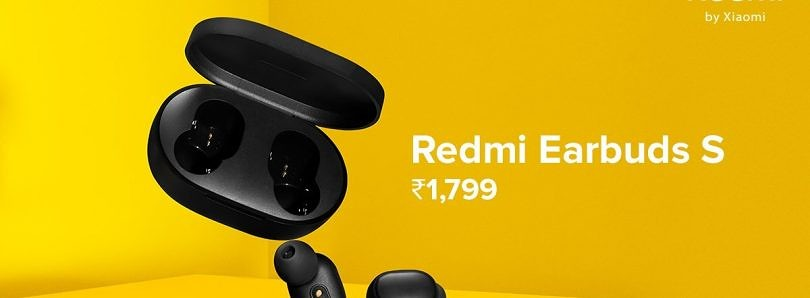 Xiaomi launches Redmi Earbuds S TWS earphones in India for ₹1,799