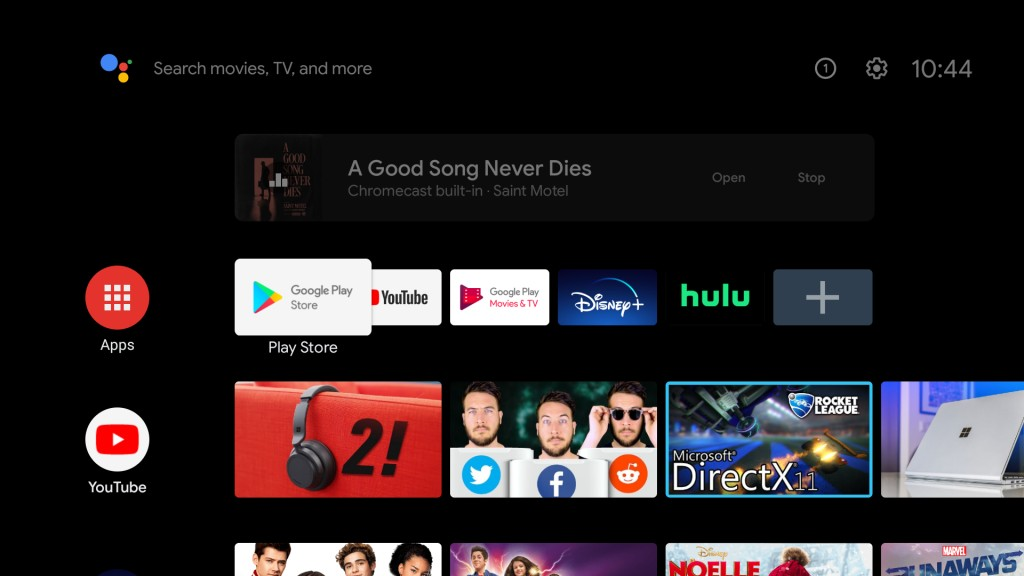 Android TV can now play casted audio in the background