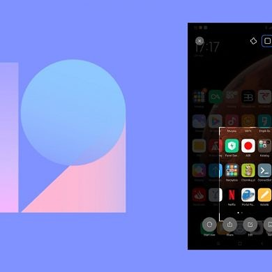 Xiaomi adds a new partial screenshot editor in MIUI 12