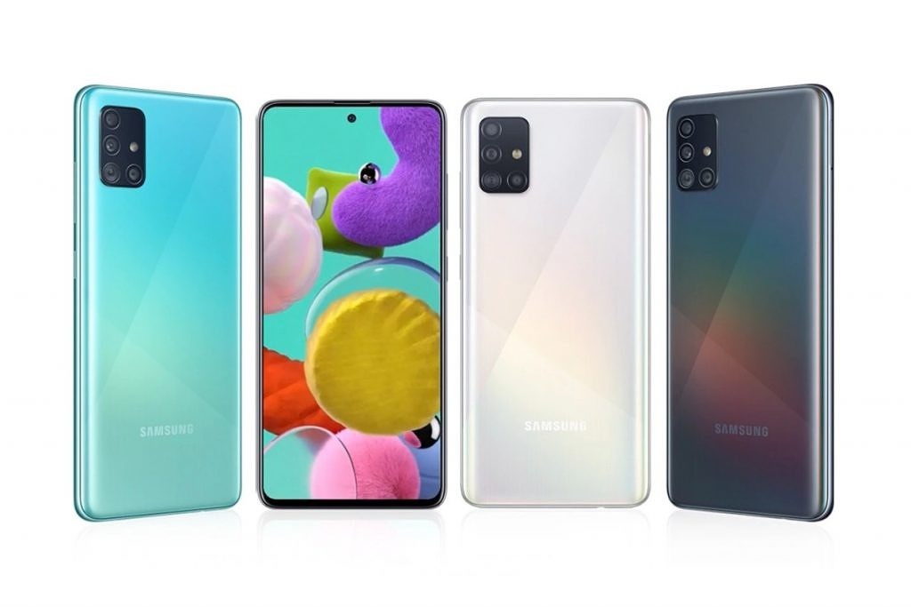 Samsung Galaxy A51 Receives One Ui 2 1 With April 2020 Security Patches