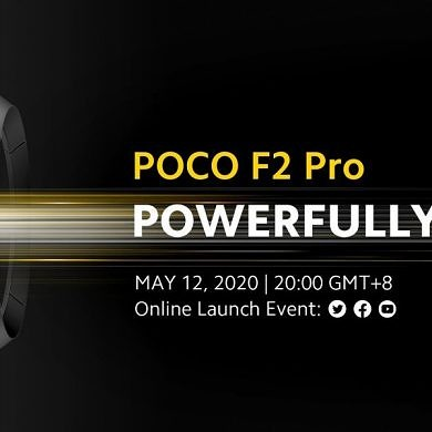 POCO F2 Pro to be launched globally on May 12