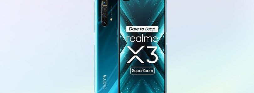 Realme X3 SuperZoom launches with the Snapdragon 855+ and 120Hz display for €499