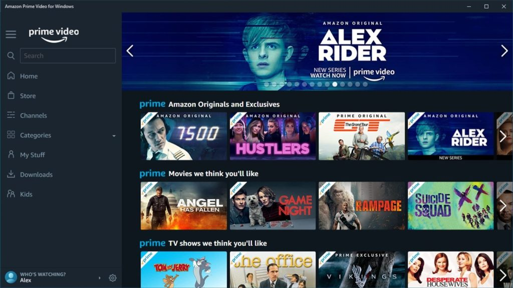 Update Windows App Live Amazon Prime Video Finally Gets A
