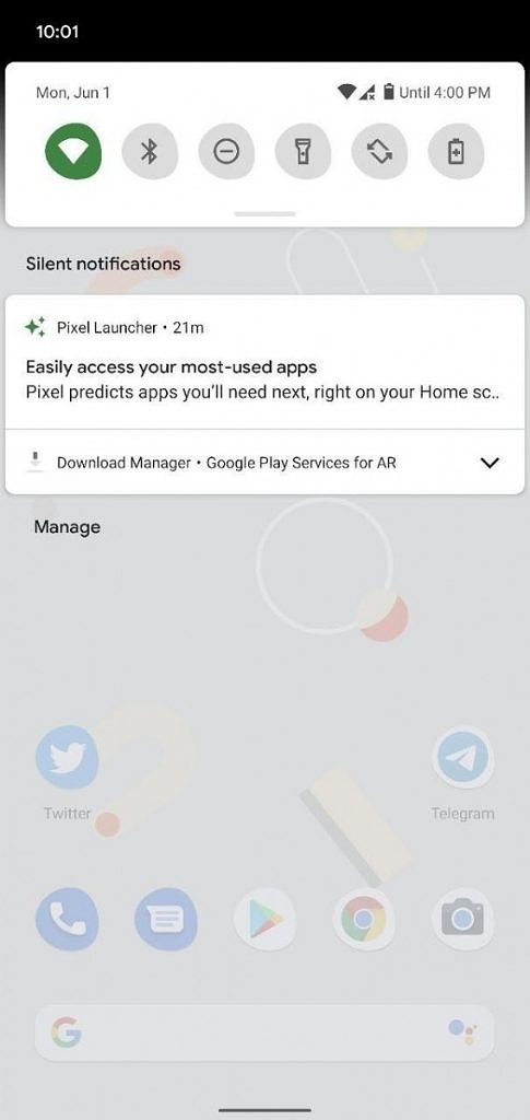 Android 11 Beta 1