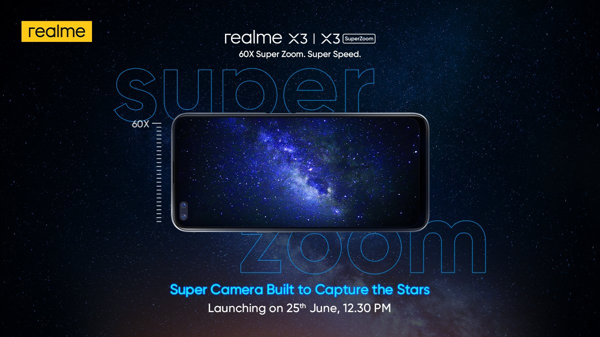 Realme X3 And X3 Superzoom With 120hz Display Snapdragon 855