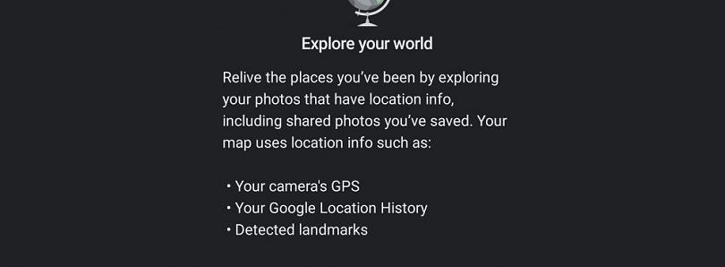 "Google Photos tests ""Explore Map"" to view your photos by location"