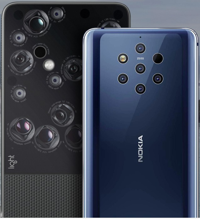 Light L16 and Nokia 9 PureView