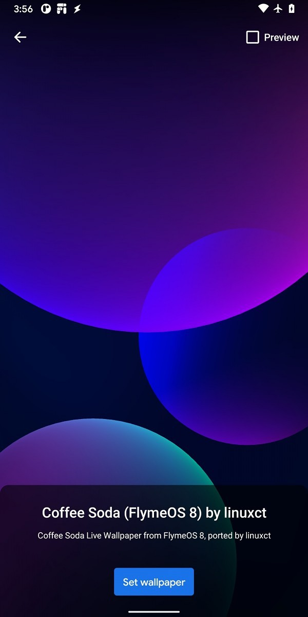 Download Meizu's Flyme OS 8 colorful bubble live wallpapers!