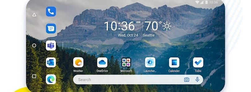 Microsoft Launcher v6 update enables landscape mode and new Feed design