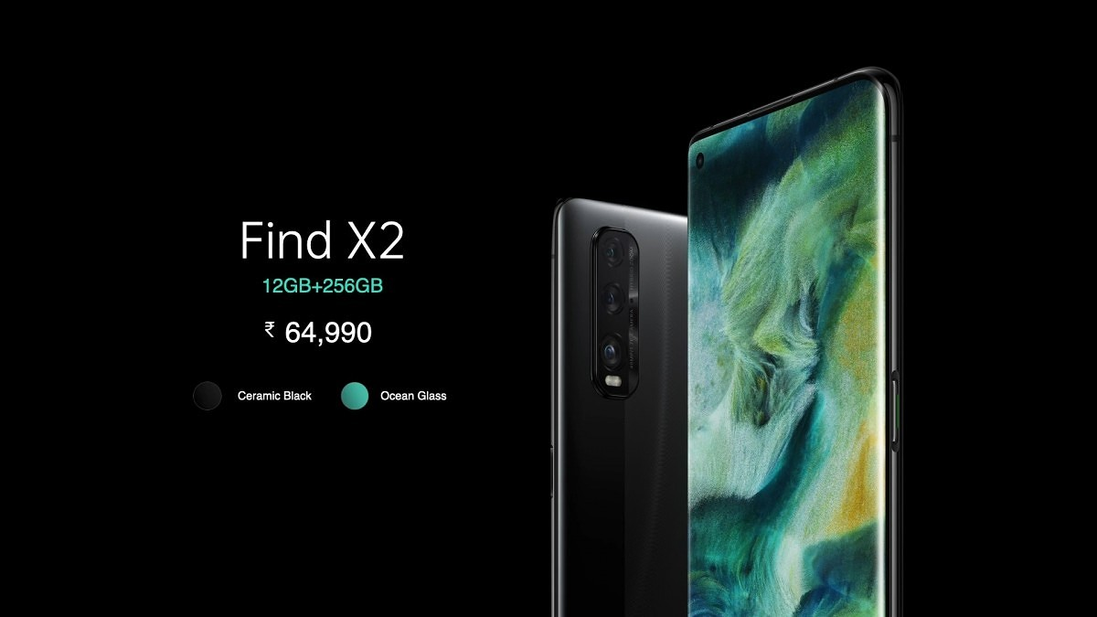 OPPO Find X2 launches in India with Snapdragon 865 for ₹64,990